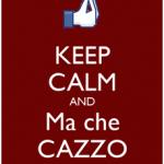 keep calm and ma che cazzo - problemi stampa a colori - sistema di stampa